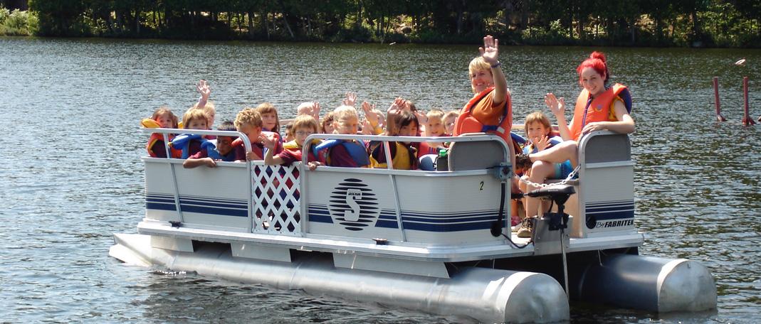Ponton - Activités- Camp de vacances et de plein air quatre saisons - Boute-en-Train