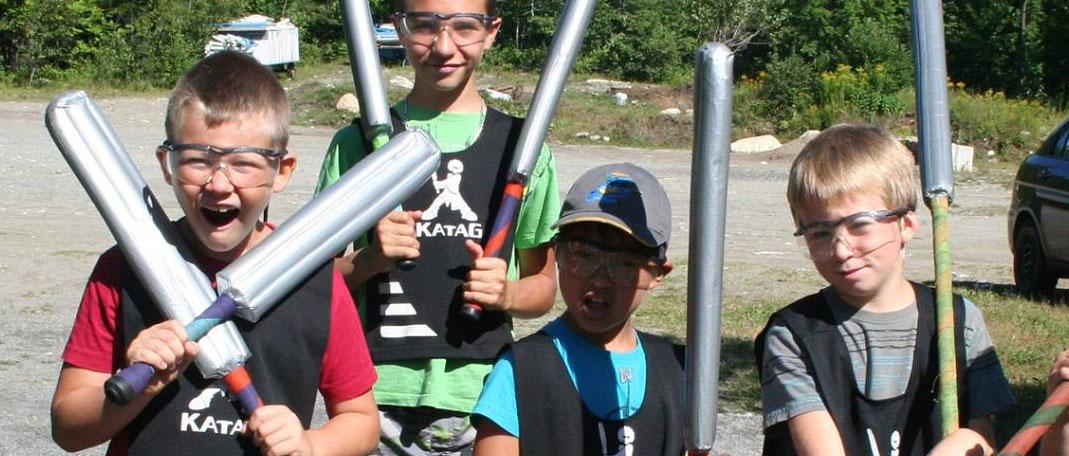 En savoir plus sur le camp spécialisé - Camp Boute-en-train - Camp de vacances et de plein air quatre saisons