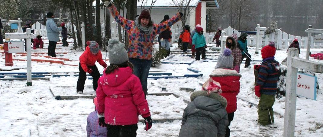 En savoir plus sur les groupes pour la Relâche scolaire - Camp Boute-en-train - Centre de vacances et de plein air quatre saisons