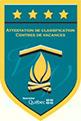 Camp Boute-en-train, certifié 4 étoiles par Tourisme Québec - Centre de vacances et de plein air quatre saisons