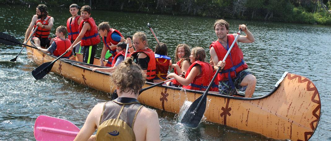 Rabaska - Activités- Camp de vacances et de plein air quatre saisons - Boute-en-Train
