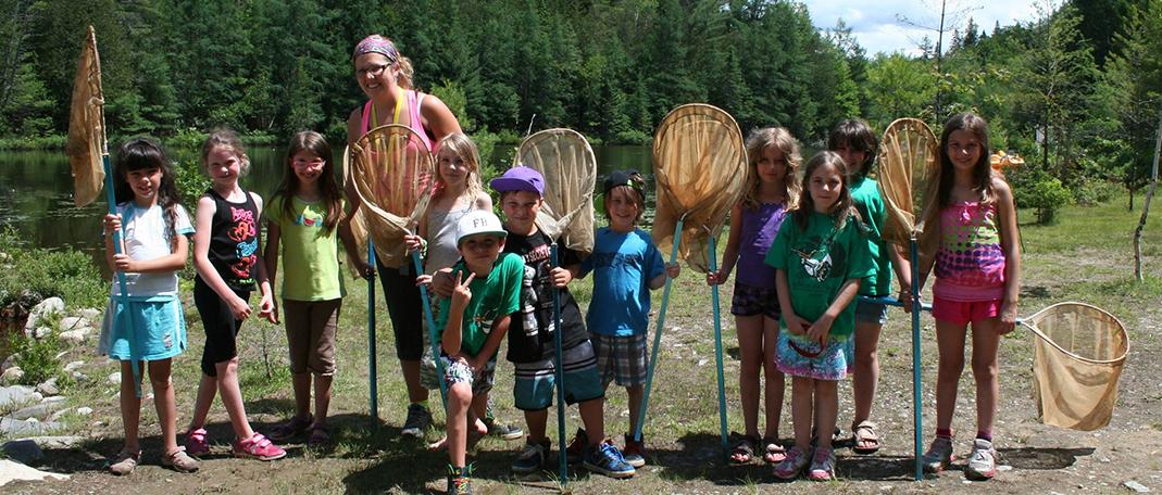 Écologie - Activités - Camp de vacances et de plein air quatre saisons - Boute-en-Train