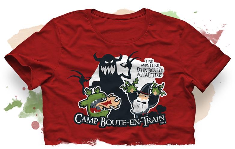 Thématique de l'été 2015 - Camp de vacances - Camp Boute-en-Train