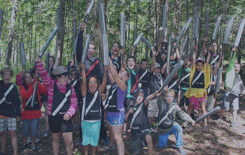 Camp Spécialisé Katag - Camp Boute-en-train - Centre de vacances et de plein air quatre saisons