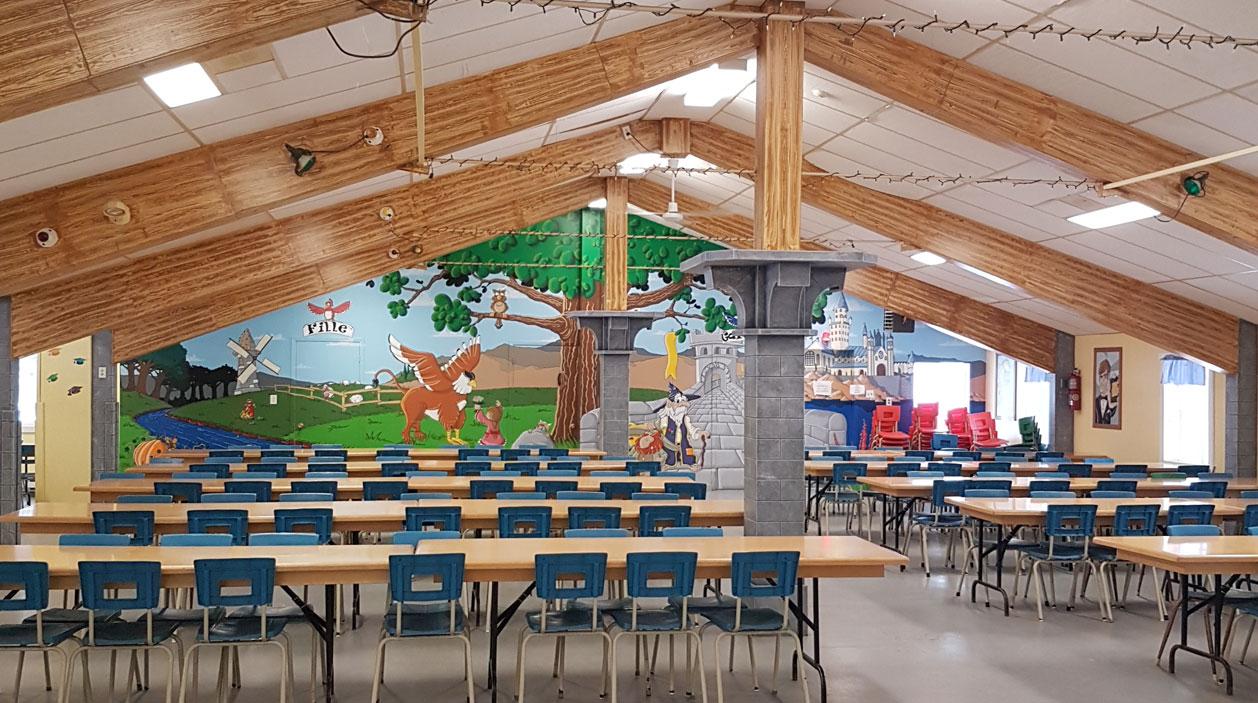 Le Loup - Cafétéria du Camp Boute-en-Train