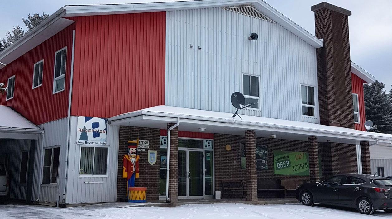 Le Pavillon Maurice-Besette - Bâtiment administratif du Camp Boute-en-Train