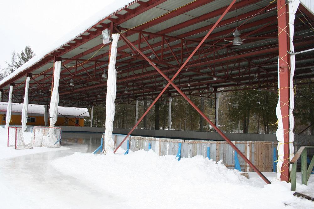 Le Préau - Espace couvert en plein air du Camp Boute-en-Train