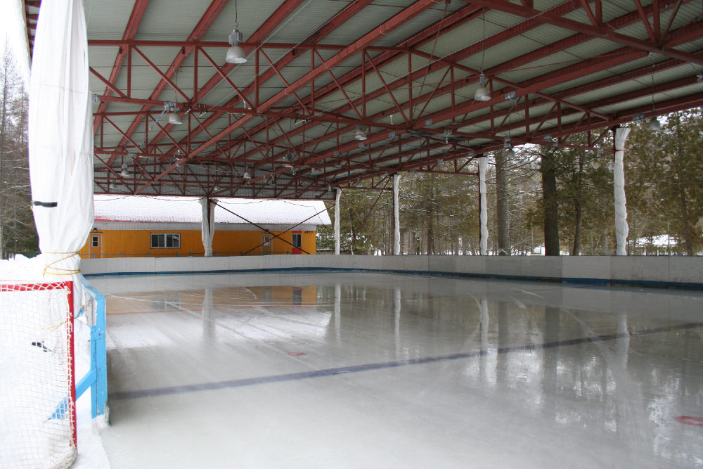 Préau - Patinoire couverte au Camp Boute-en-Train